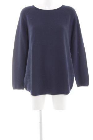 Gerry Weber Crewneck Sweater blue allover print casual look