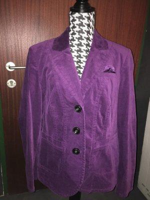 Gerry Weber Blazer unisexe rouge mûre-violet