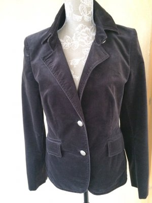 Gerry Weber - Samtvelours-Blazer - Gr. 40 - NEU