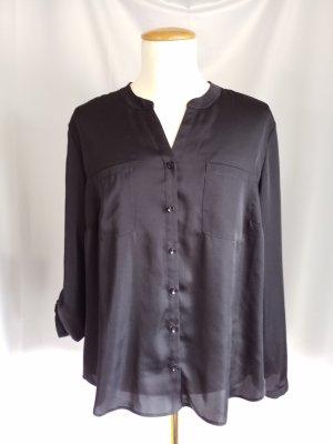 Gerry Weber Glanzende blouse zwart