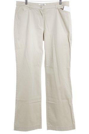 Gerry Weber Pantalone a zampa d'elefante beige