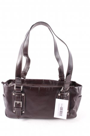 Gerry Weber Bolsa de hombro marrón oscuro look retro