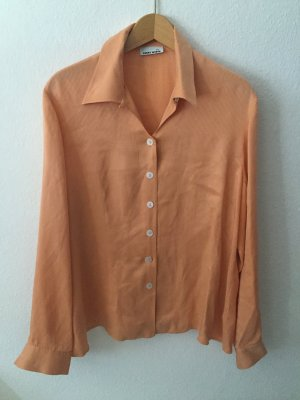 Gerry Weber Seidenbluse orange Gr. 44