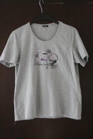 Gerry Weber T-shirt grigio chiaro Cotone