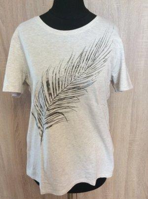 Gerry Weber Shirt Gr 40 hellgrau