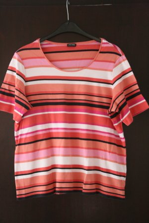 Gerry Weber Shirt Gr. 46/48 orange, pink, schwarz, weiß