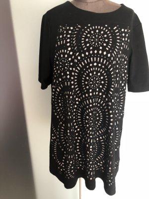 Gerry Weber Shirt Tunika Gr 42 XL Loch Muster
