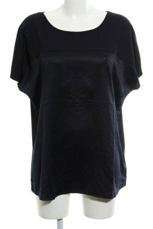 Gerry Weber Camicia a tunica blu scuro Inserti in tessuto