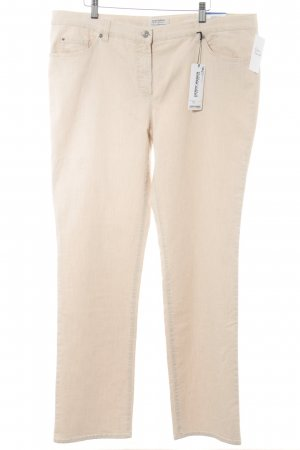 Gerry Weber Slim Jeans beige-creme Casual-Look