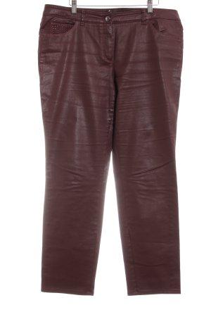 Gerry Weber Slim Jeans bordeauxrot Casual-Look