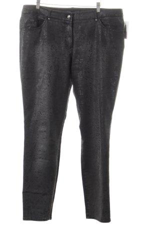 Gerry Weber Slim Jeans dunkelgrau Destroy-Optik