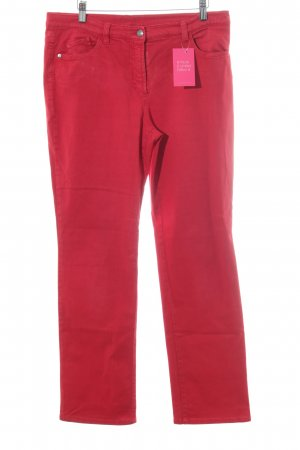 Gerry Weber Slim Jeans rot Casual-Look