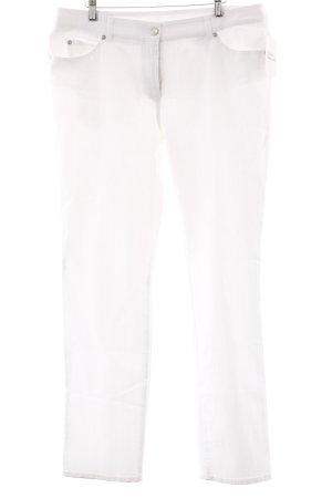 Gerry Weber Slim Jeans weiß Casual-Look