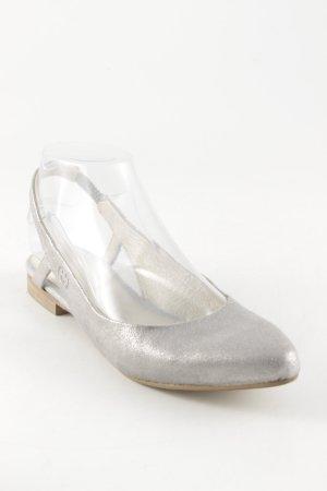 Gerry Weber Slingback Ballerinas silver-colored elegant
