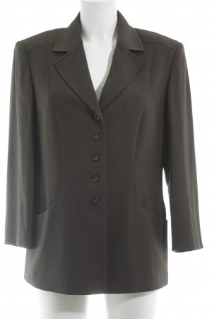 Gerry Weber Blazer smoking marrone-grigio stile professionale