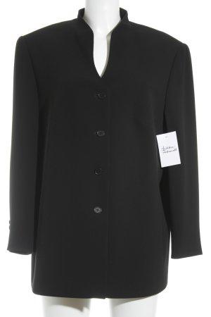 Gerry Weber Blazer de esmoquin negro estilo minimalista
