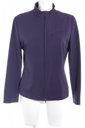 Gerry Weber Veste softshell violet foncé style simple