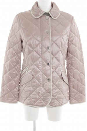Gerry Weber Quilted Jacket pink quilting pattern casual look