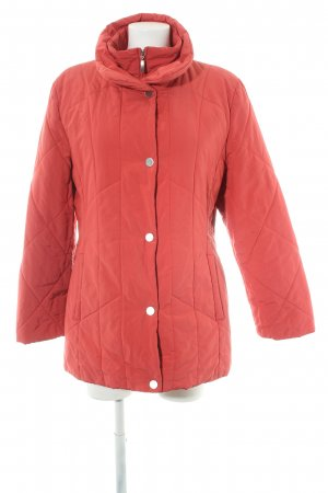 Gerry Weber Quilted Jacket salmon quilting pattern casual look