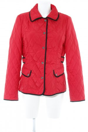 Gerry Weber Steppjacke rot-schwarz Casual-Look