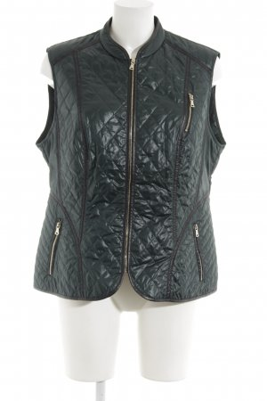 Gerry Weber Quilted Gilet dark green-black casual look