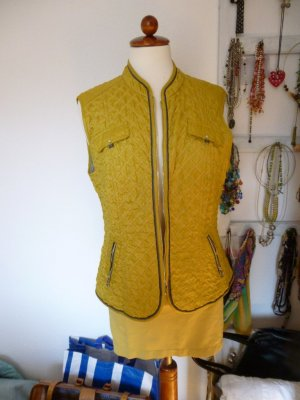 Gerry Weber Quilted Gilet lime yellow