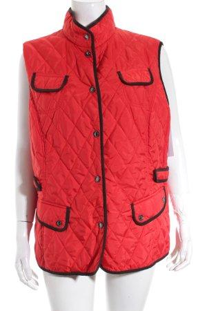 Gerry Weber Steppweste rot-schwarz sportlicher Stil