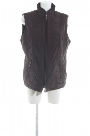 Gerry Weber Quilted Gilet black brown casual look