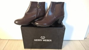 Gerry Weber Stivaletto con zip marrone scuro Pelle