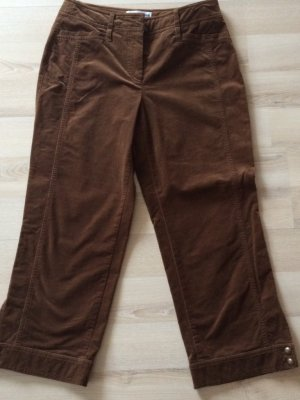 Gerry Weber Breeches brown cotton