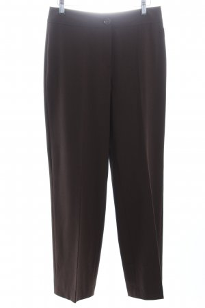 Gerry Weber Stoffhose dunkelbraun Business-Look