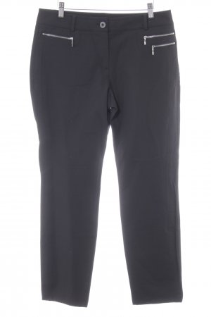 Gerry Weber Pantalone jersey nero stile classico
