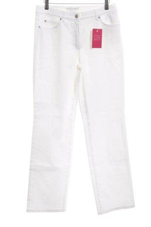 Gerry Weber Straight-Leg Jeans weiß Casual-Look