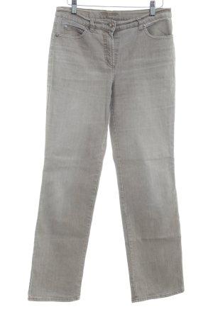 Gerry Weber Jeans a gamba dritta beige-color cammello stile semplice