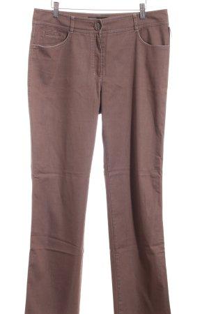 Gerry Weber Straight-Leg Jeans braun Casual-Look