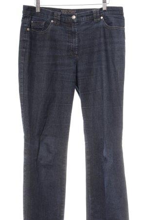 Gerry Weber Jeans a gamba dritta blu scuro-blu stile casual