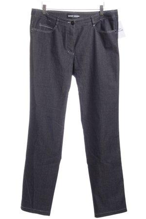 Gerry Weber Straight-Leg Jeans dunkelblau Casual-Look