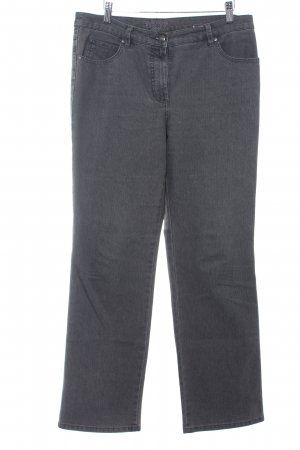 Gerry Weber Straight-Leg Jeans dunkelgrau-grau Casual-Look