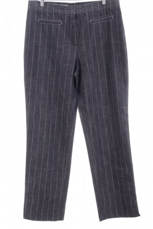 Gerry Weber Straight-Leg Jeans graublau Nadelstreifen Casual-Look