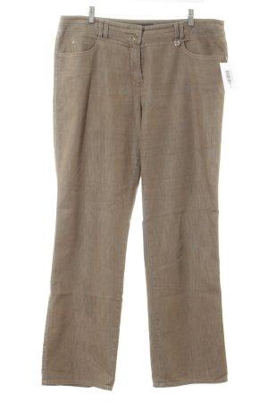 Gerry Weber Straight-Leg Jeans graubraun Casual-Look