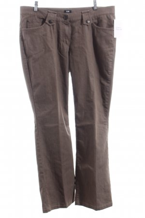Gerry Weber Straight-Leg Jeans hellbraun Casual-Look