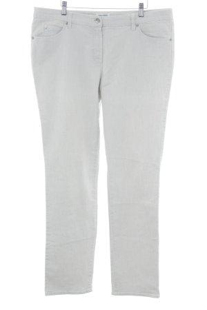 Gerry Weber Straight-Leg Jeans hellgrau Business-Look