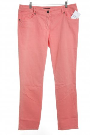 Gerry Weber Jeans a gamba dritta salmone stile casual