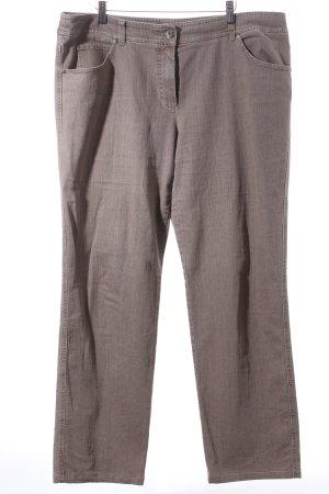 Gerry Weber Stretch Jeans sandbraun-hellbraun Casual-Look