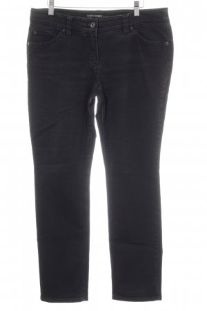 Gerry Weber Stretch Jeans schwarz-anthrazit Casual-Look