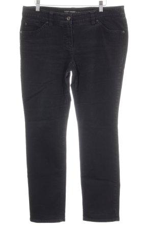 Gerry Weber Jeans elasticizzati nero-antracite stile casual