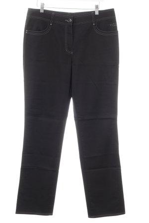 Gerry Weber Pantalone elasticizzato nero stile casual