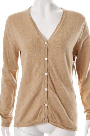 Gerry Weber Cardigan in maglia beige Cotone