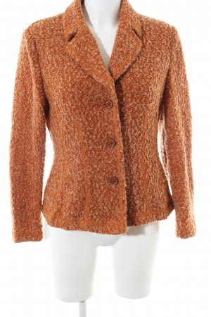 Gerry Weber Knitted Blazer light orange flecked business style
