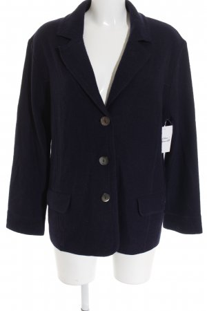 Gerry Weber Strickblazer dunkelblau Casual-Look
